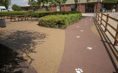 Wood Green Resin Bound Surface