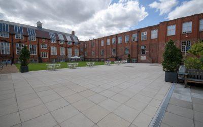 Anglia Ruskin University Paving