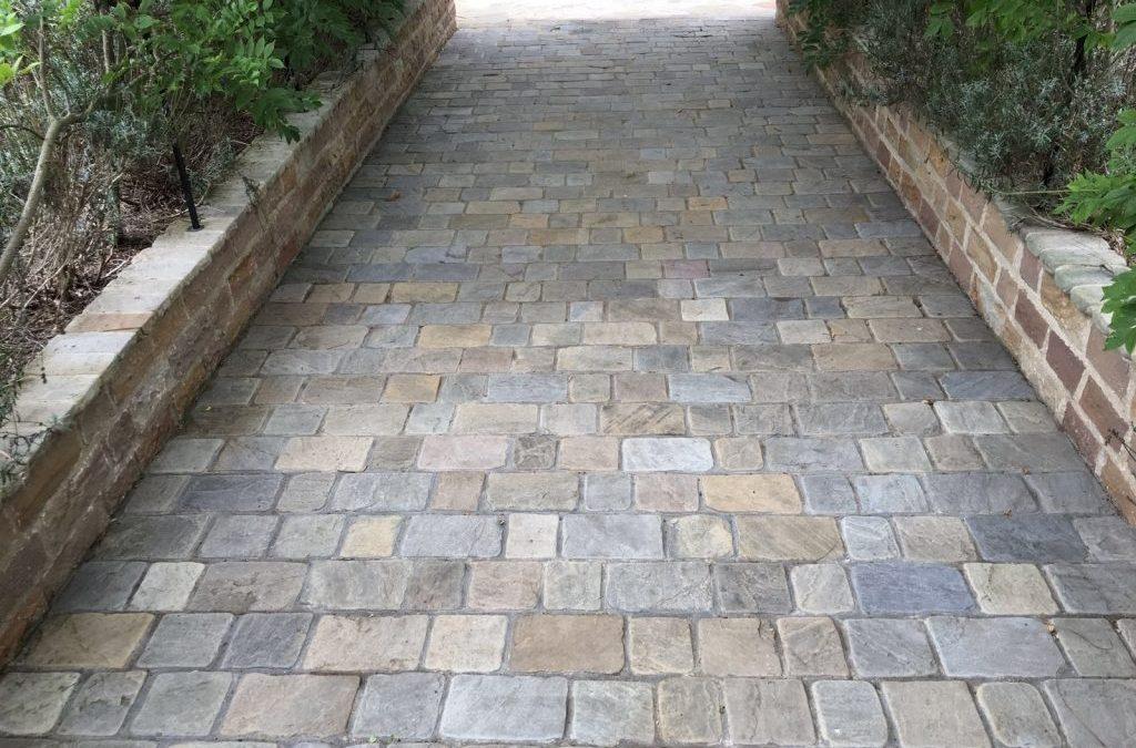Parish Cobbled Path