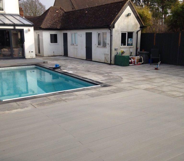 Swimming Pool Decking & Paving
