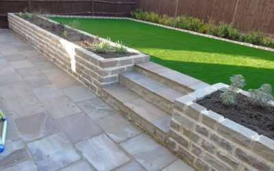 Paving and Retaining Wall