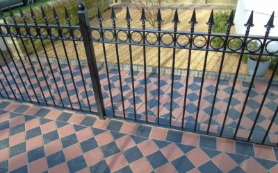 Victorian Tiling Front Gardens